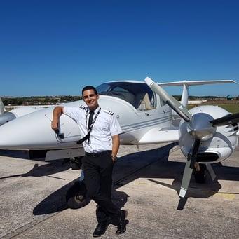 Cadet Stories: Demetris - Commercial Pilot Training School UK - FTA