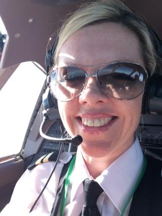 Former FTA Flight Academy Student Christine