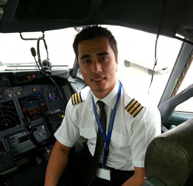 Former FTA student Sacha Radojcic now works for Ryanair
