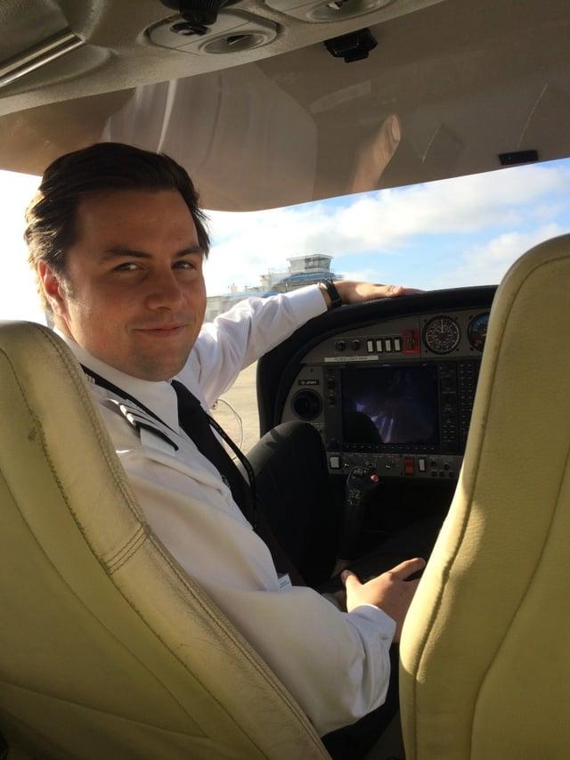 FTA Cadet Pilot Gianluca Ciaraldi