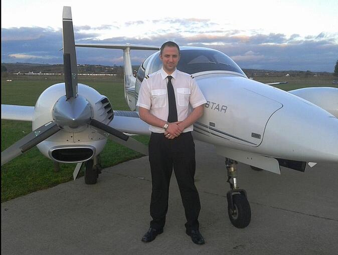 FTA Pilot Graduate Olly Hilton