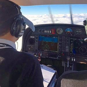 IR cross-country flight