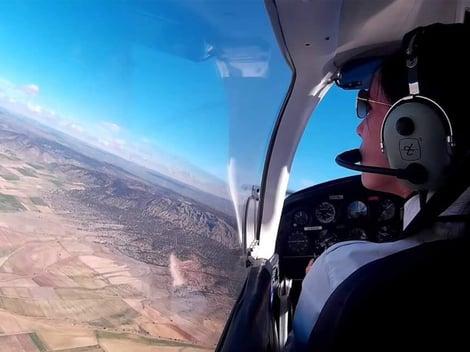 Julie female pilot