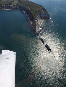 Ryan-FTA-Pilot-wing-sea-1
