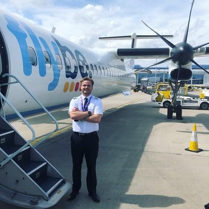Toby-Hudson-FlyBe-Pilot