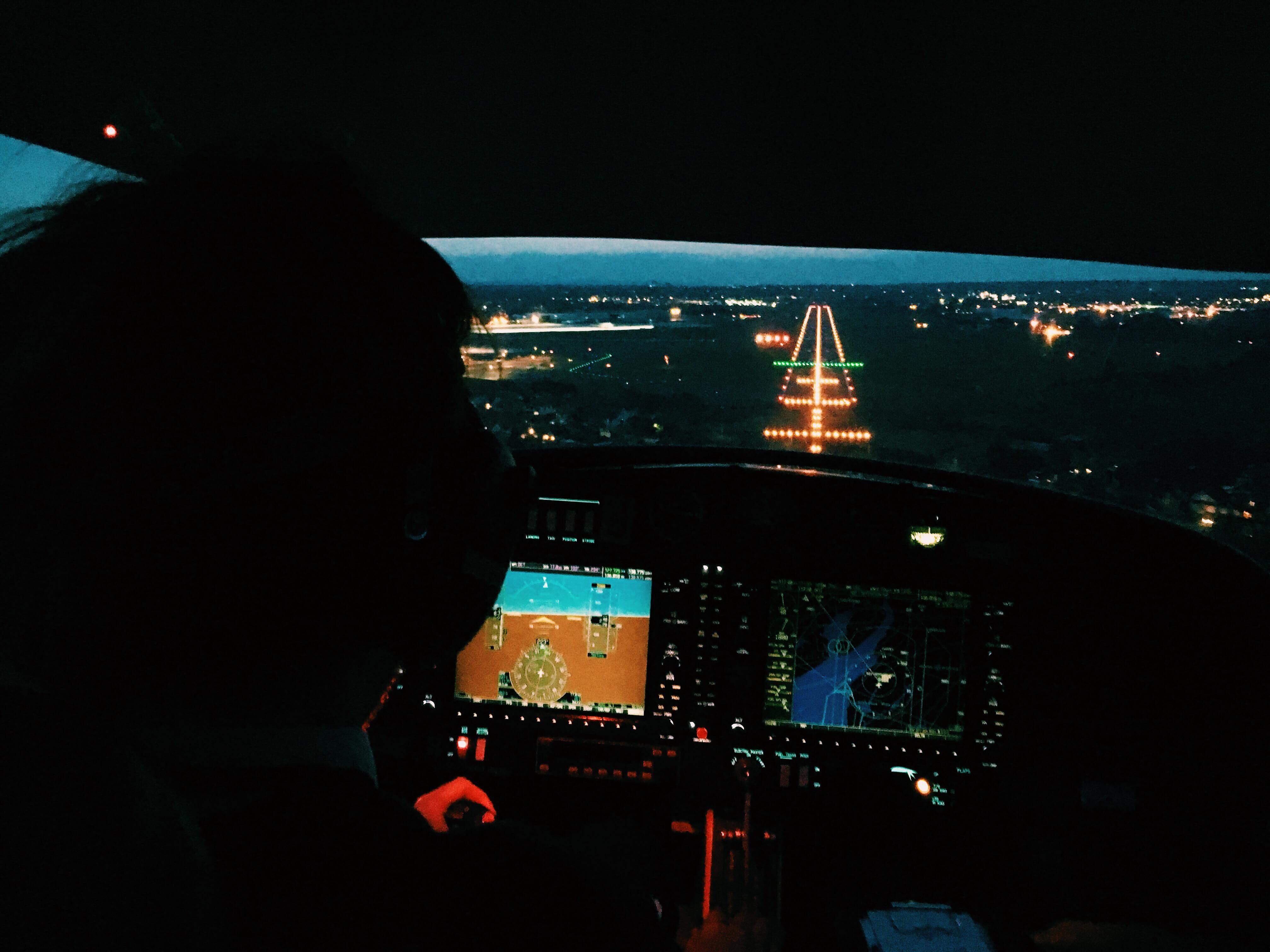 jordan webb - flying cockpit