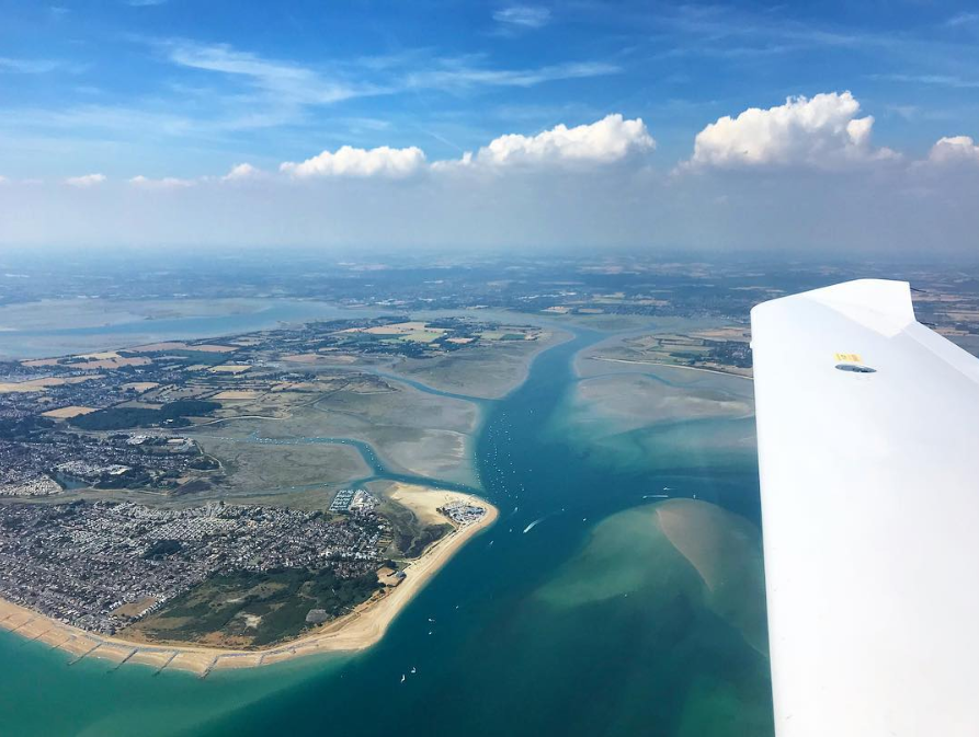 west wittering-view-flight-instructor