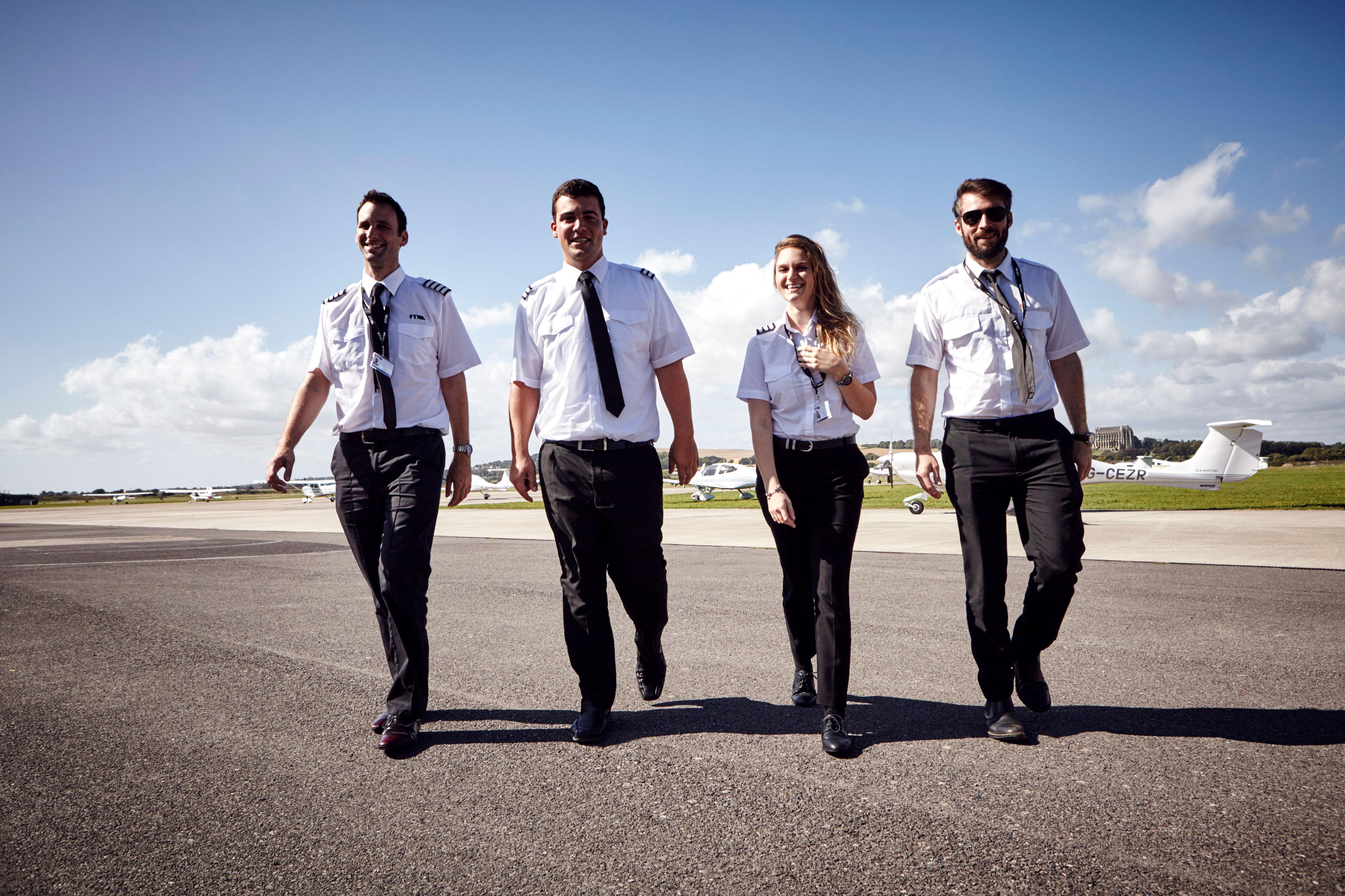 FLIGHT TRAINING FOR CAREER PILOTS