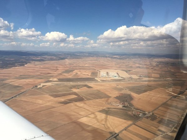 Love flying in Teruel