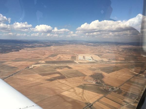 Love flying in Teruel