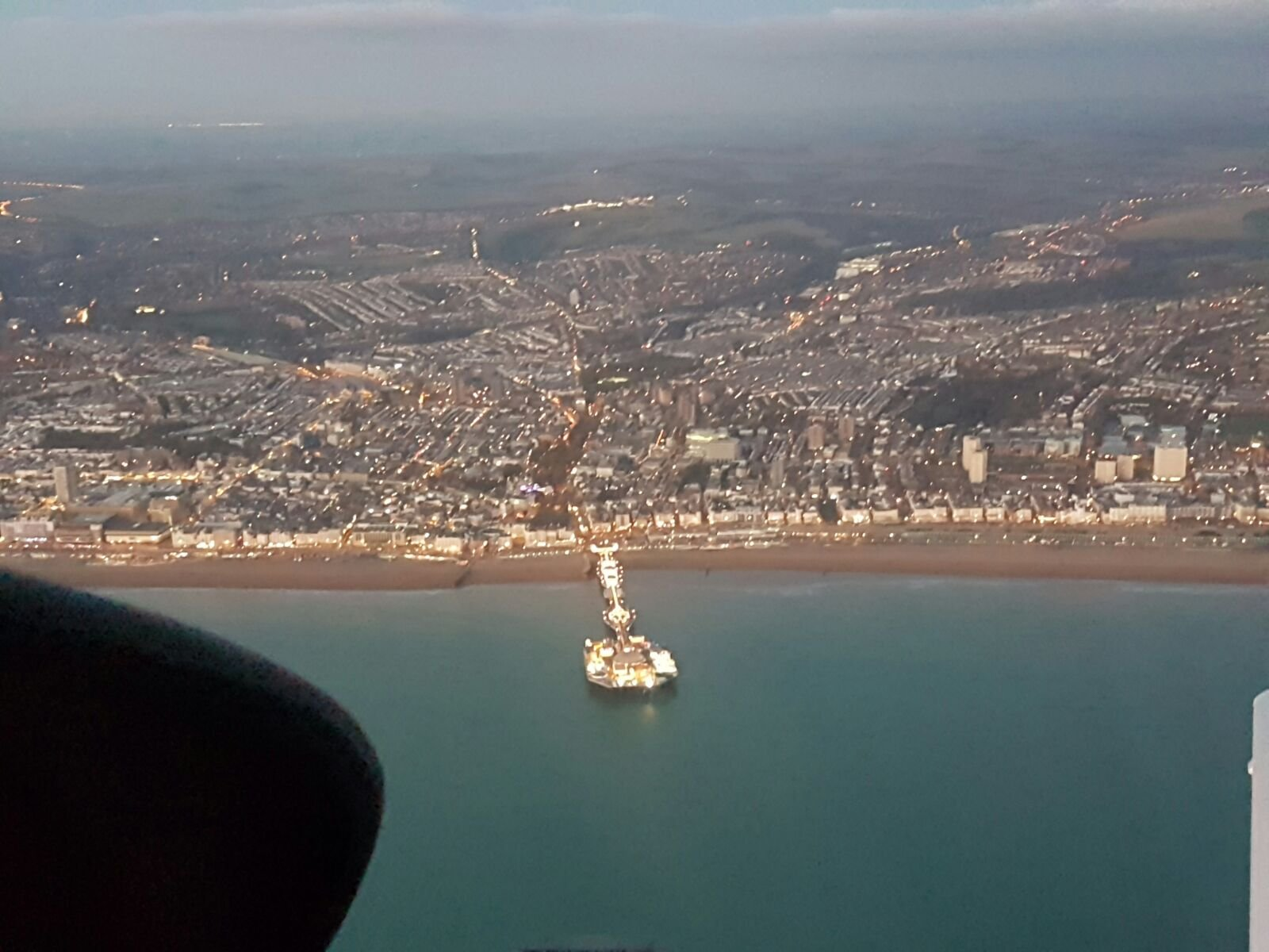 Brighton from the sky