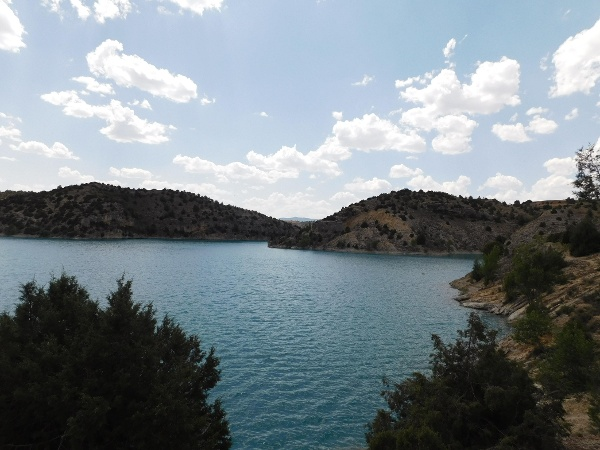 Lake in Teruel near Airport