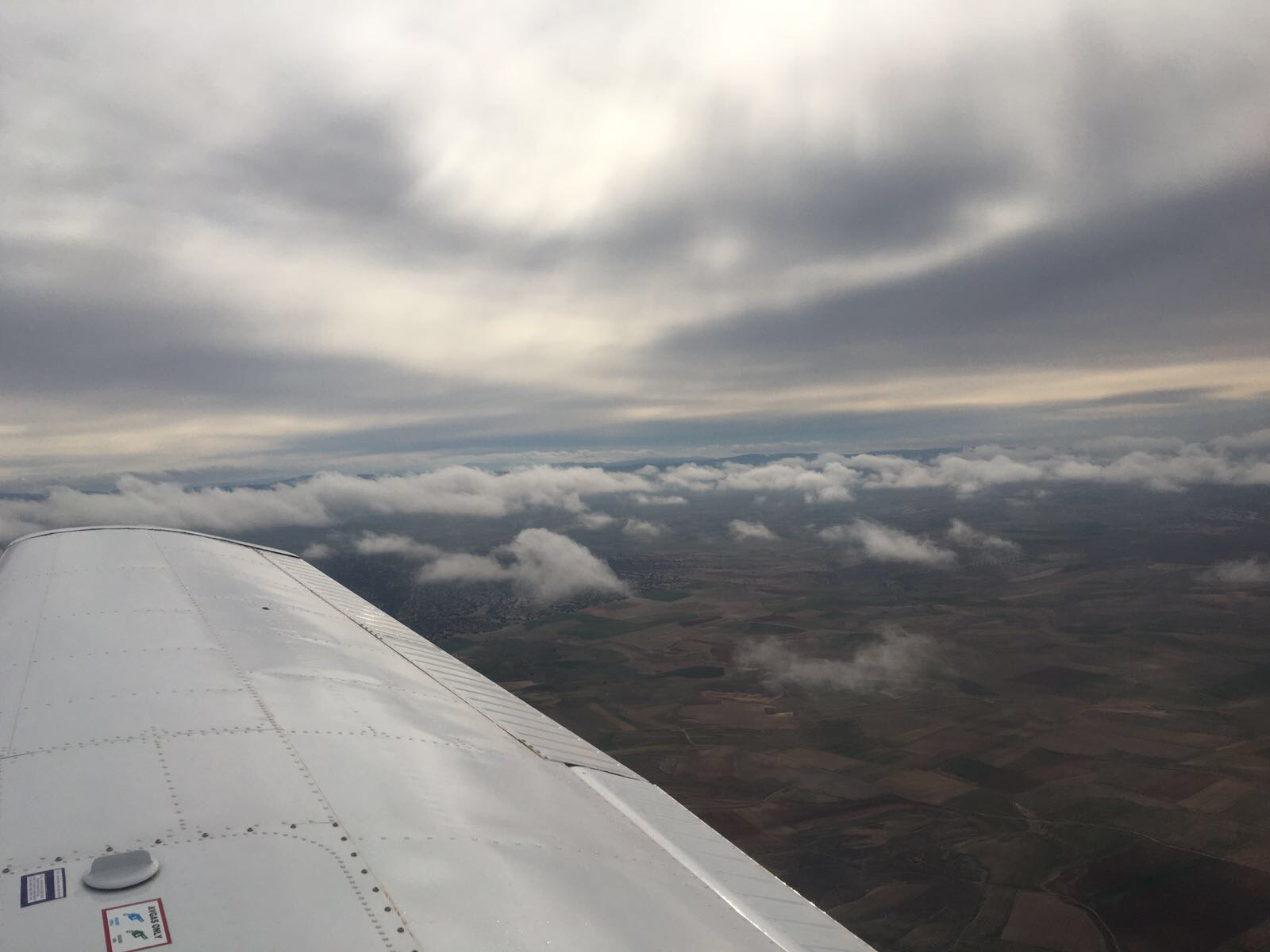 Teruel from the air