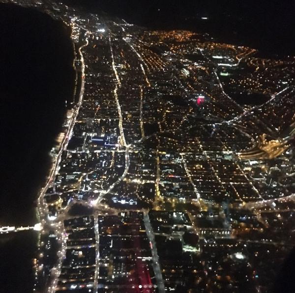 Brighton by night